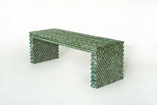 Recycled Currency Benches