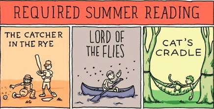 Required Summer Reading Comic