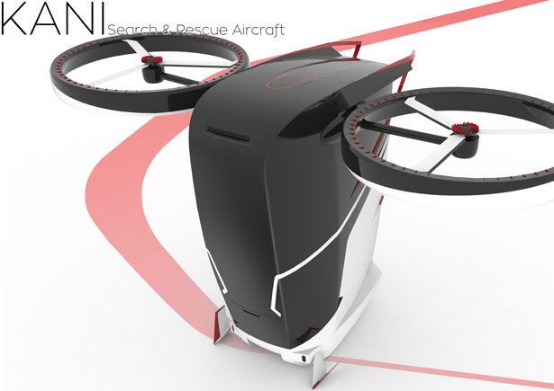 Futuristic Rescue Aircrafts