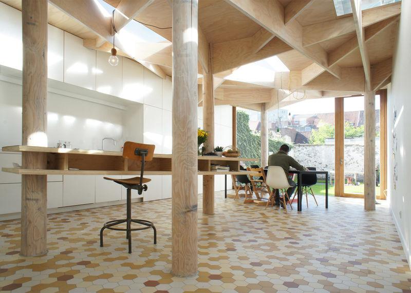 Geometric Garden Homes