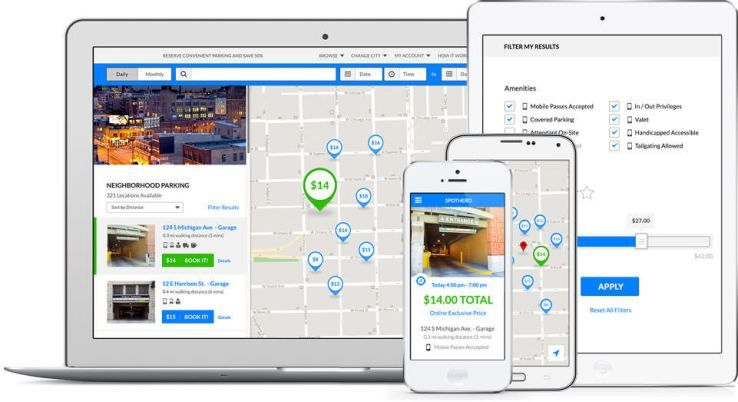 On-Demand Parking Apps