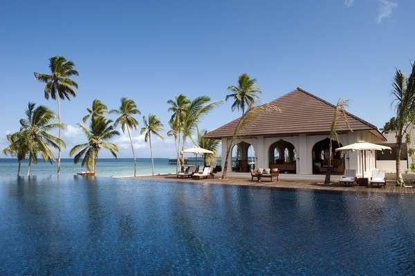 Luxuriously remote resorts residence zanzibar for Design hotel zanzibar