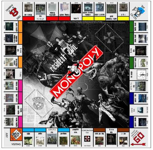 Resident Evil Monopoly