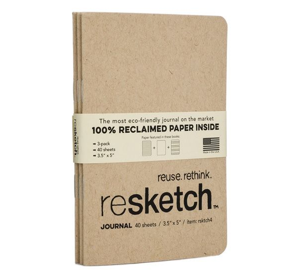 Reclaimed Paper Notebooks