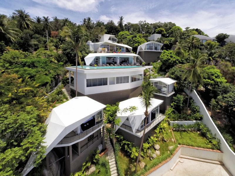 Geometric Beachside Resorts