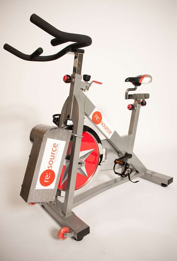 Electricity Generating Workout Equipment