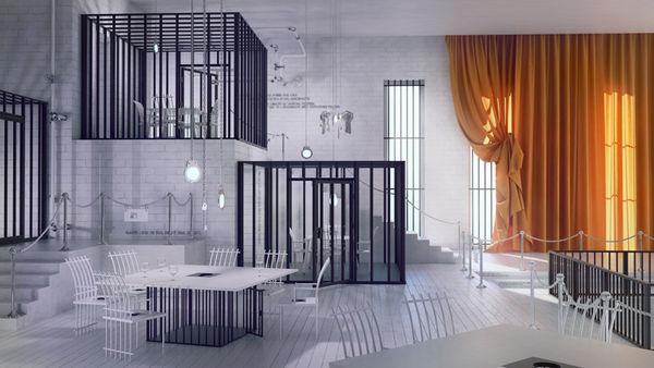 Elegant Jailhouse Eateries