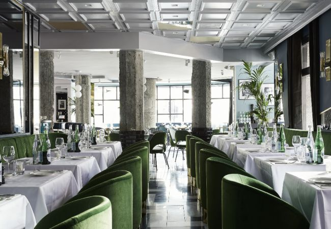 Luxurious Italian Diner Interiors