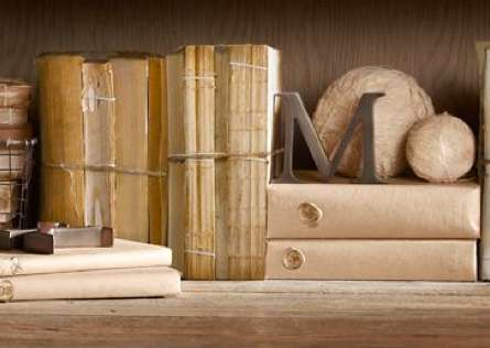 restoration hardware antique coverless book bundles