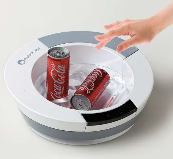 Instant Drink-Cooling Platters