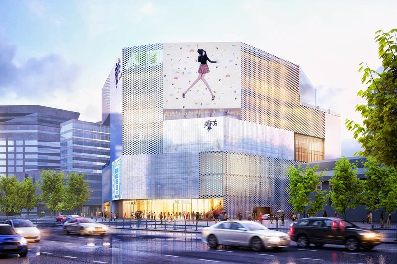 Glimmering Retail Shopping Centers