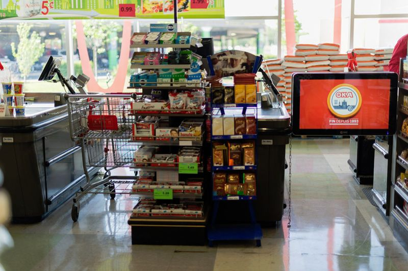 Grocery Marketing Screens