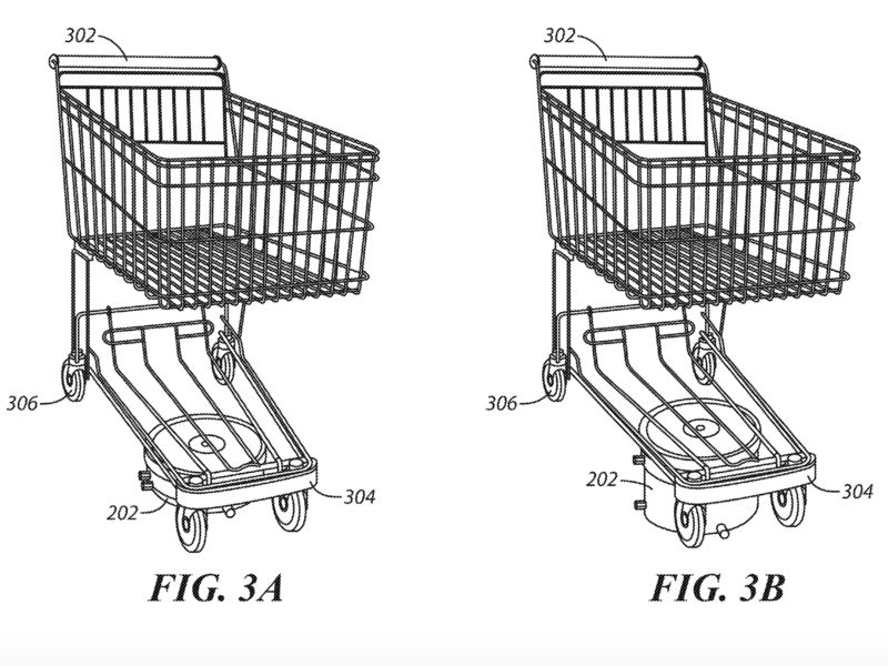 Self-Driving Shopping Carts
