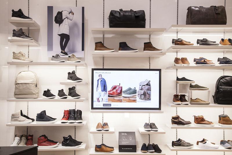 App-Connected Footwear Shops