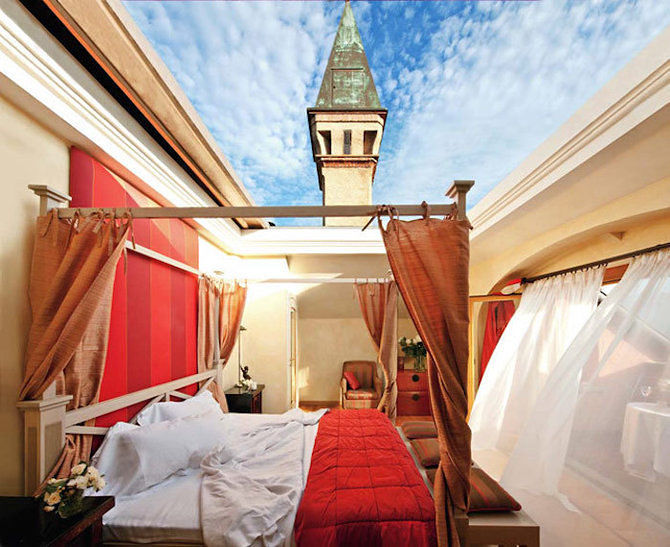 Open Air Hotel Rooms