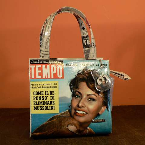Retro Magazine Purses