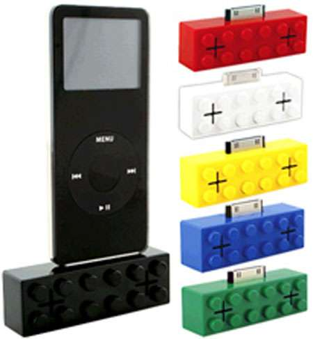 Retro Block iPod Speaker