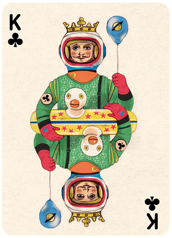 Whimsically Vintage Poker Packs
