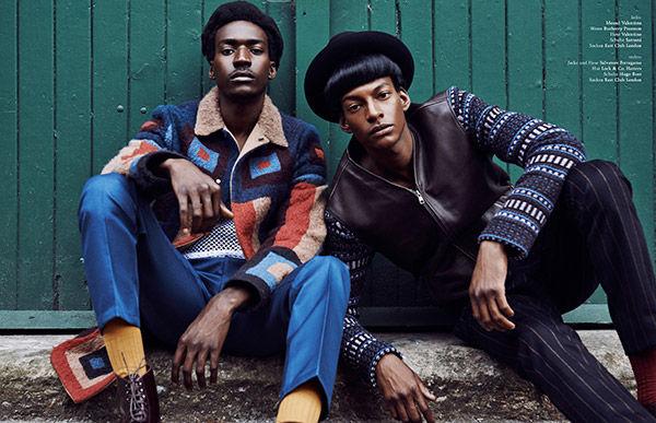 Nostalgic 70s Menswear