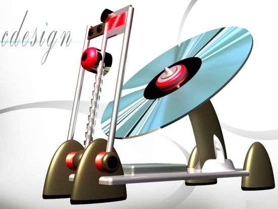 Turntable CD Players
