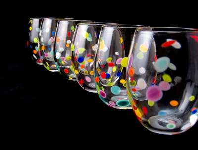 Vivaciously Speckled Chalices