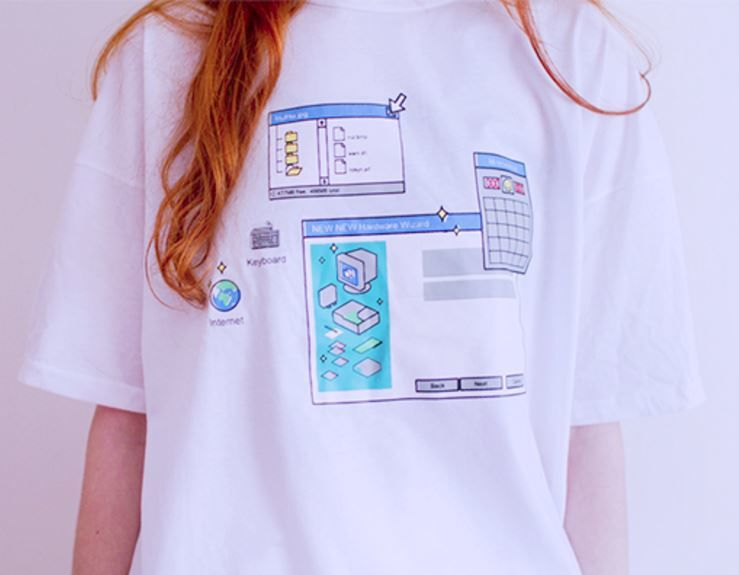 Nostalgic Tech Apparel