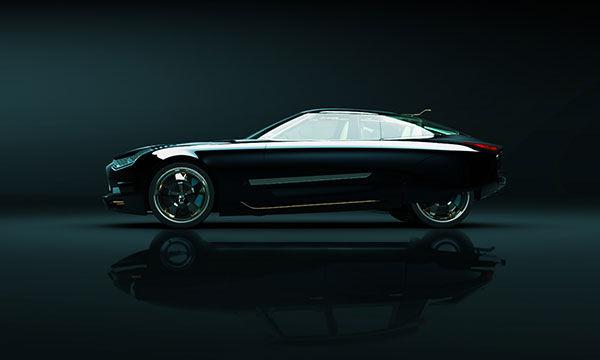 Retro-Futuristic Cars
