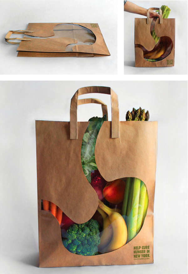 Hunger-Solving Reusable Bags