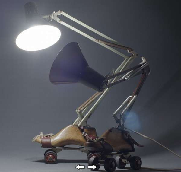 Upcycled Object Lighting