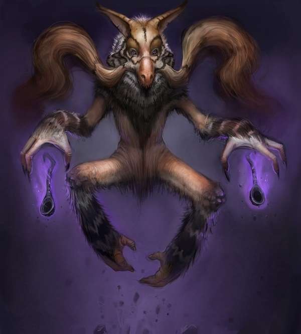 Nightmarish Pokemon Art