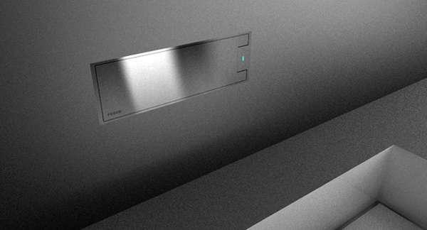 Metallic Brick Faucets