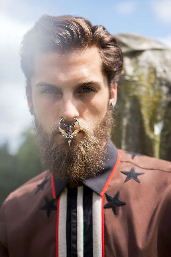 Edgy Lumberjack Editorials