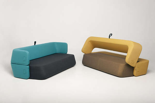 Rotating Backrest Daybeds