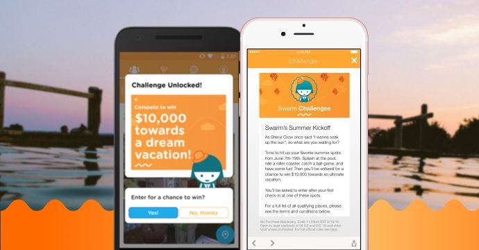 Social Check-In Reward Systems