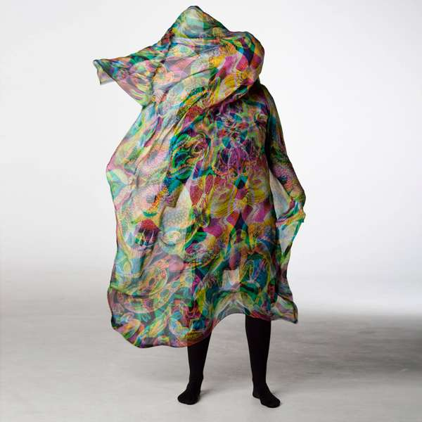 Popping Psychedelic Shawls