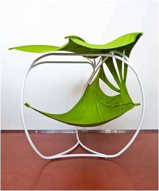 Leaf-Shaped Loungers