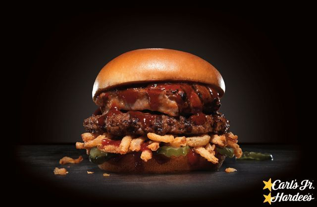BBQ Rib-Topped Burgers