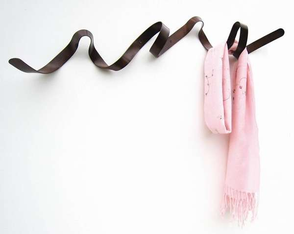 Ribbon Coat Racks