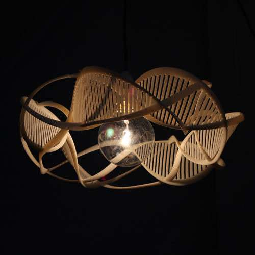 Ribbons of Life lamp