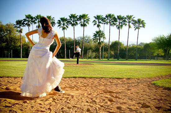 Bridal Baseball Uniforms