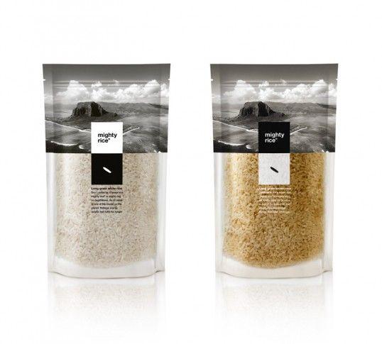 Duo-Chromatic Rice Branding