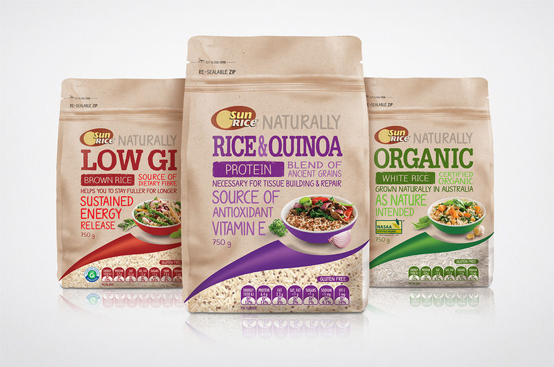 Wholesome Rice Packaging Quot Rice Packaging Design Quot