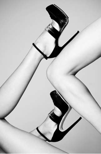 Piercing Sculptural Stilettos