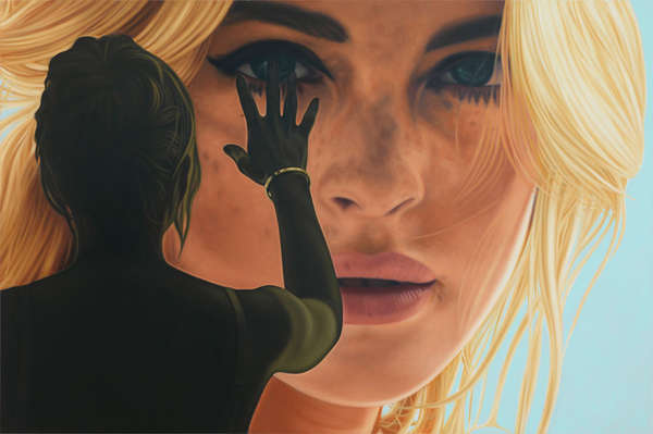 Richard Phillips Celebrity Paintings