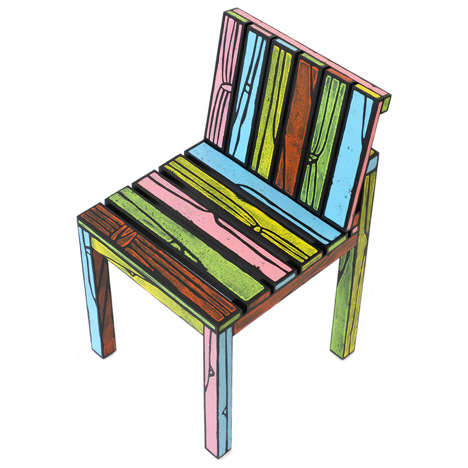 Cartoon Styled Chairs