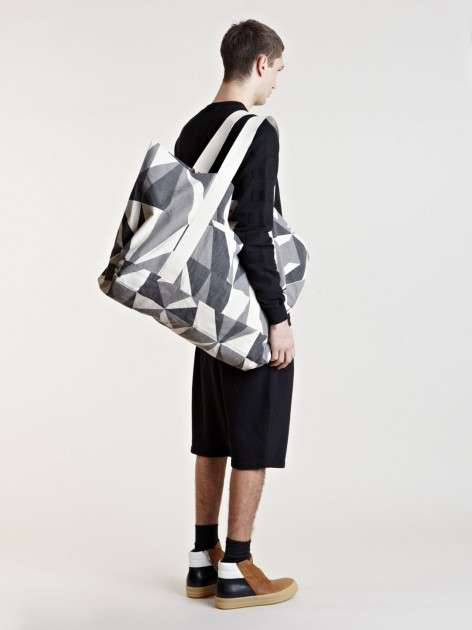 Over-Sized Geometric Bags