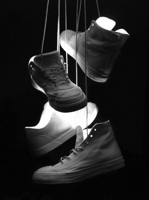 Ceramic Sneaker Lamps