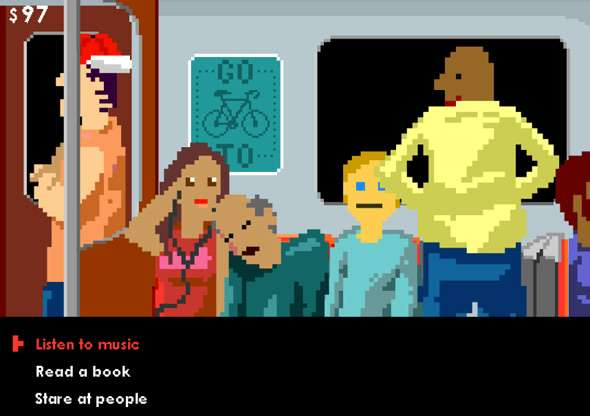 8-Bit Subway Adventures