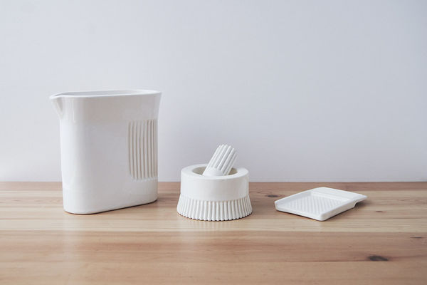 Pleated Porcelain Kitchenware