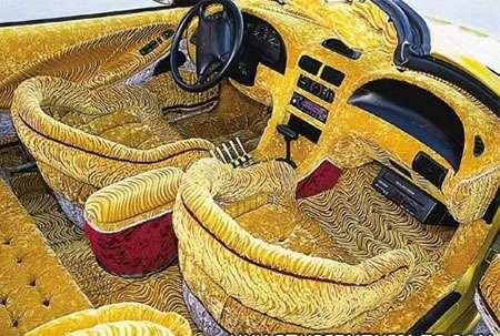 Crazy Car Interiors